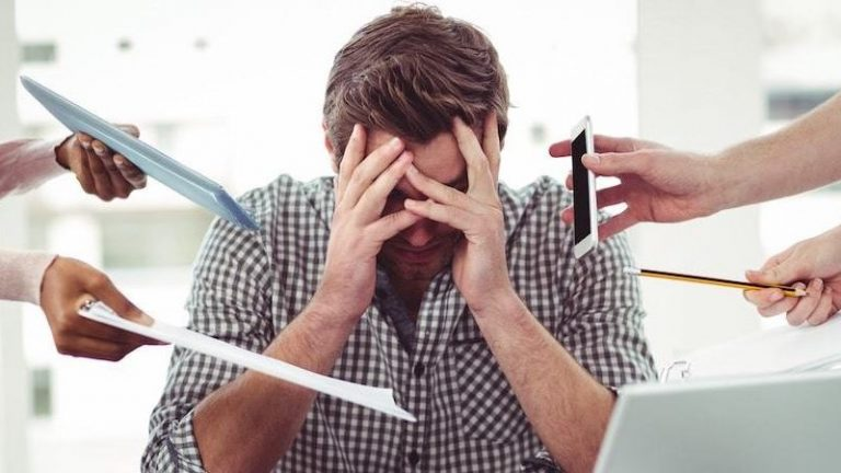 someone-stressed