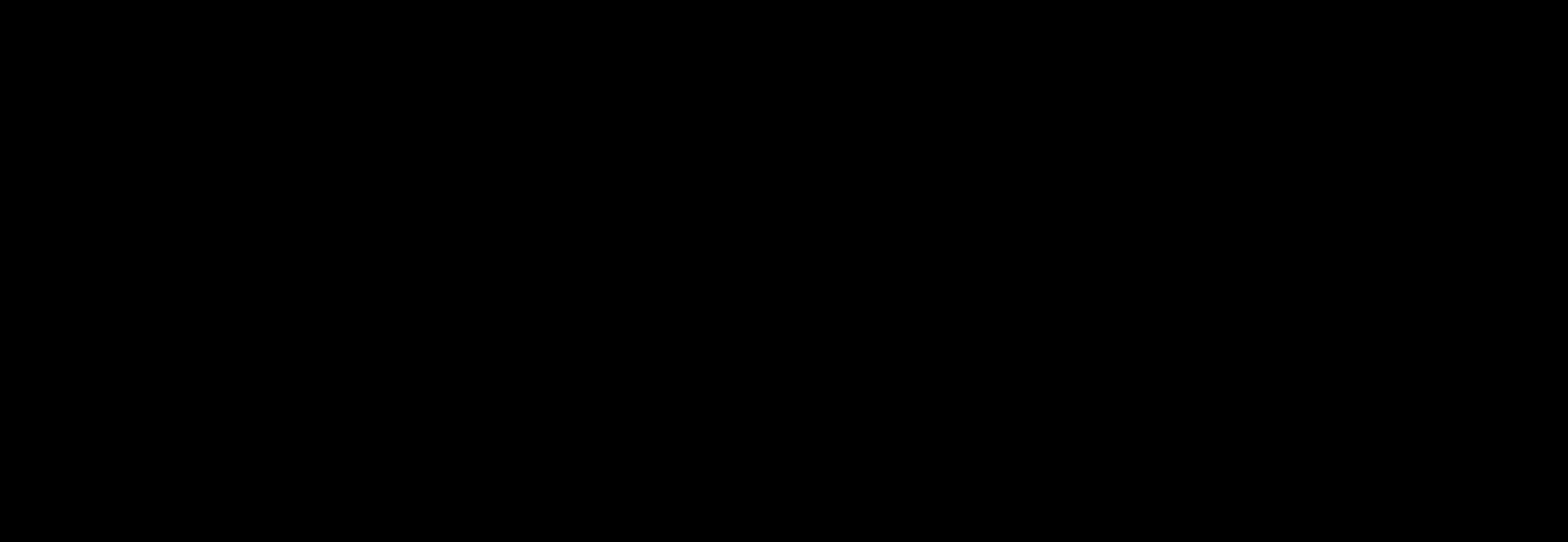 black-on-transparent